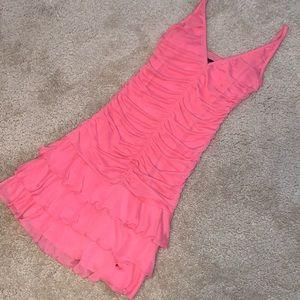 Moda International Ruffle Mini Dress